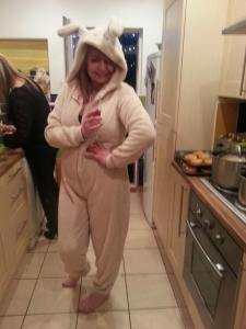 THE FALLING WOMAN AND THE RABBIT ONSIE..